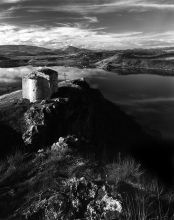 "Ivaylo Filipov Photograph - ""A Church on the Hill Of The  Lake"""