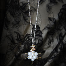 Star Shell Pearl Pendant Necklace