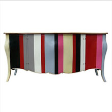 4 Doors Flag Commode
